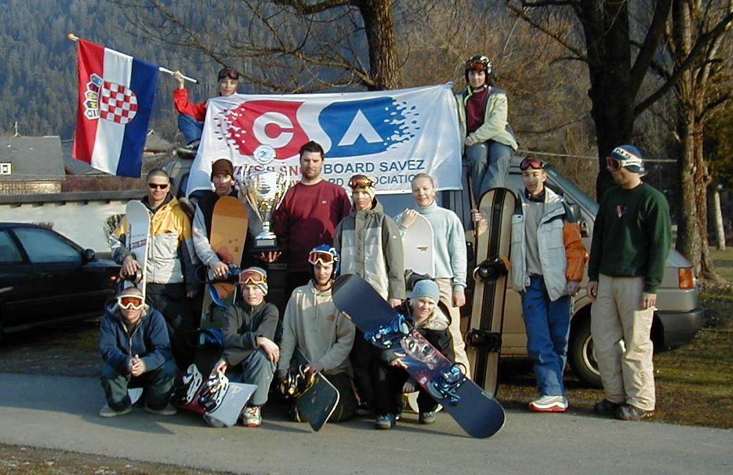 Topolino Hrvatski snowboard savez