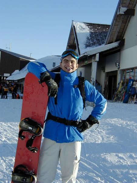 davor marcec snowboard instruktor mladost