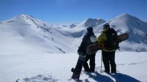 Makedonija snowboard freeride