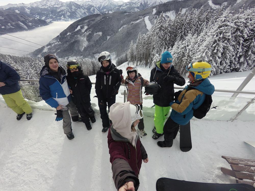 Snowboard klub Mladost Kamp Kaprun